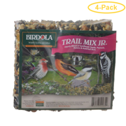 Birdola Trail Mix Jr. Seed Cake .43 lbs - Pack of 4