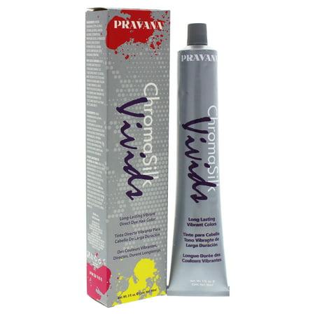 Pravana ChromaSilk Vivids Long-Lasting Vibrant Color - Pink - 3 oz Hair