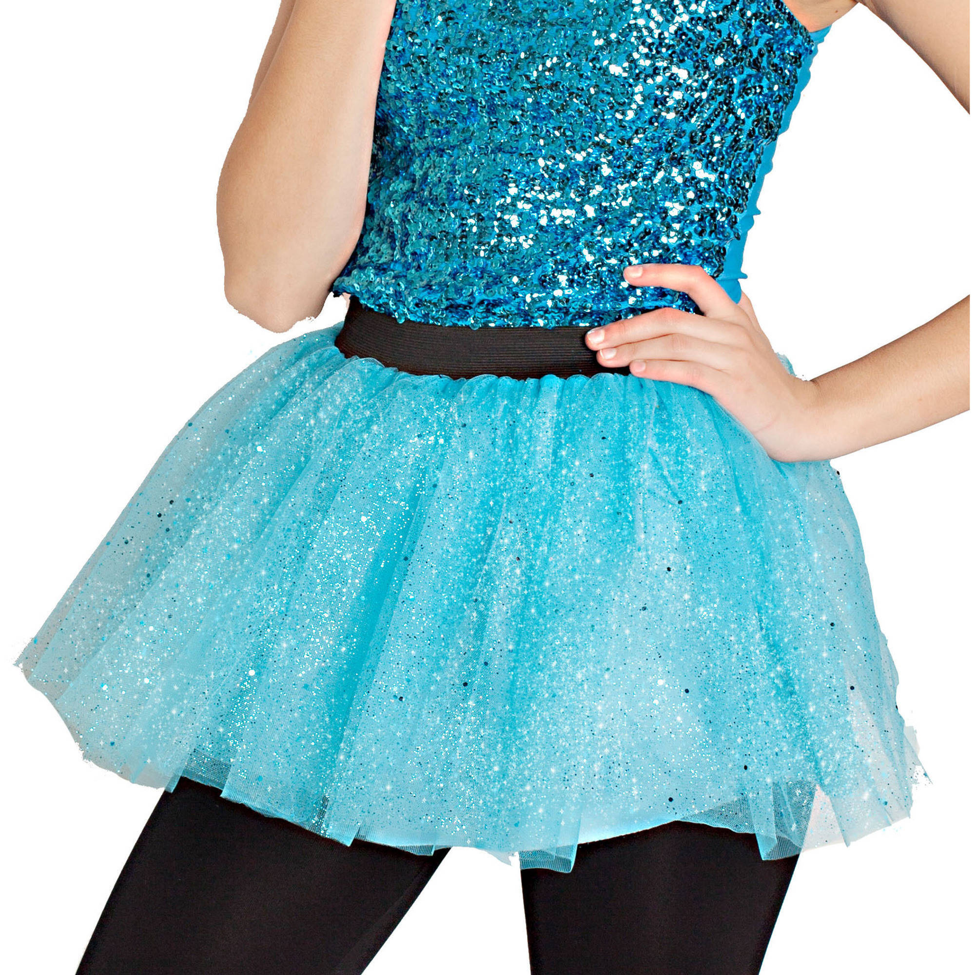 Women's Sparkling Tutu Adult Halloween Costume Accessory