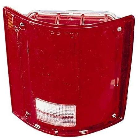 Go-Parts » 1987 - 1988 Chevrolet V10 Suburban Rear Tail Light Lamp Assembly / Lens / Cover - Left (Driver) Side 5965775 GM2800121 Replacement For Chevrolet V10 Suburban