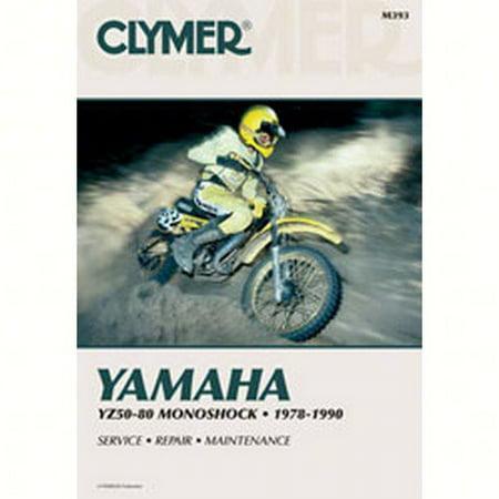Clymer Manuals M393  M393; Yamaha Yz50-80 Motorcycle Repair Service Manual