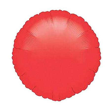 Shindigz Halloween Red Circle Mylar Balloon - Shindig Halloween