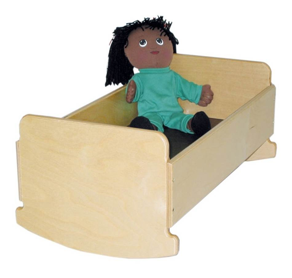 Kid's Play Doll Cradle