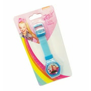 JoJo Siwa Girls Watch Blue Band Nickelodeon Lcd Watch