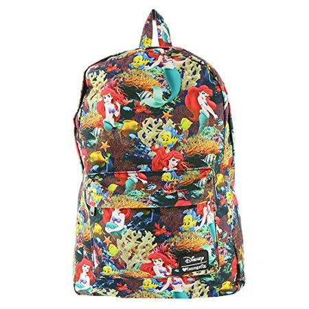 Disney Little Mermaid Princess Ariel Backpack Book Bag
