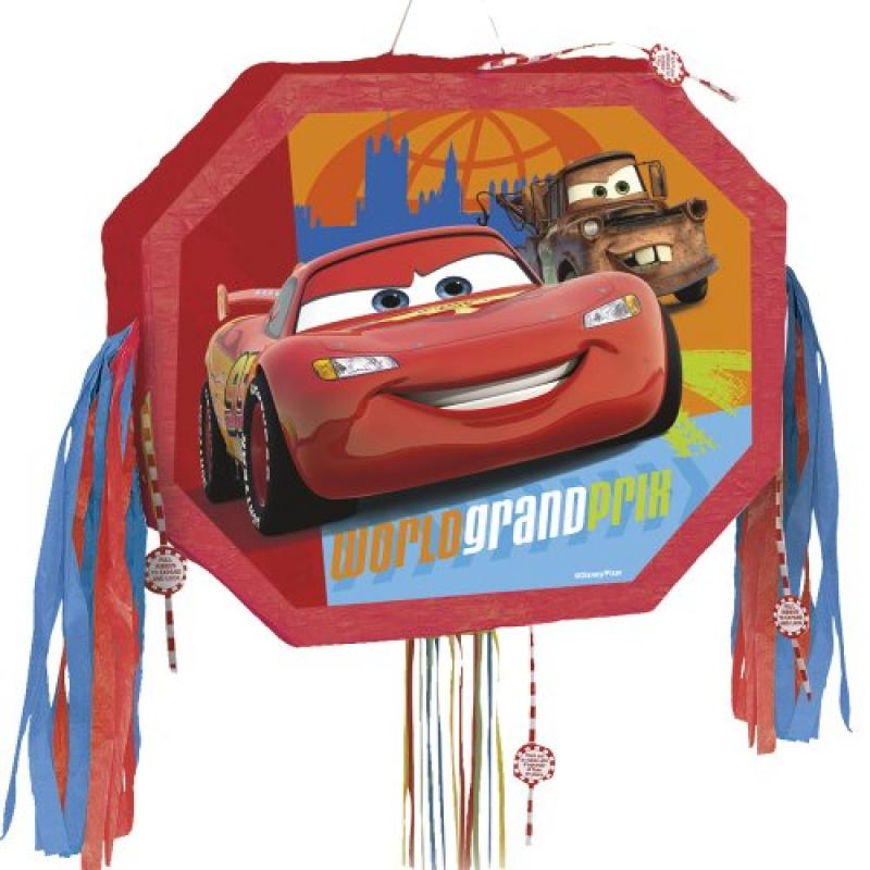 Unique Industries Disney Cars Pinata with Pull Pop-Out