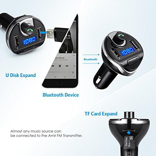 f51ba60cc72 Criacr Bluetooth FM Transmitter