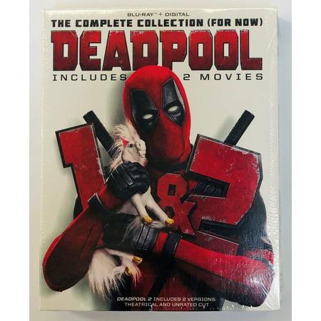 Twentieth Century Fx Deadpool 1 + 2 Double Feature Bd+dc 2pk