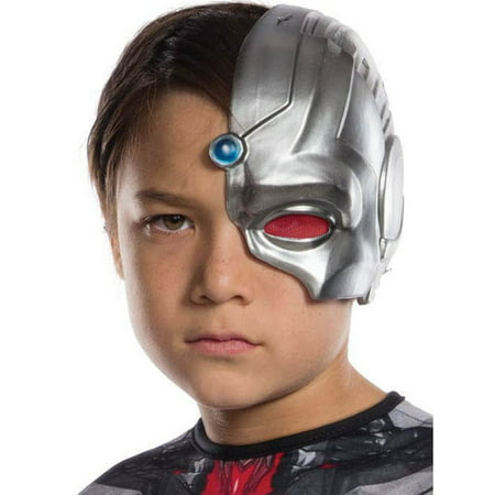 Cyborg 1/2 Child Mask](Pig Masks For Kids)