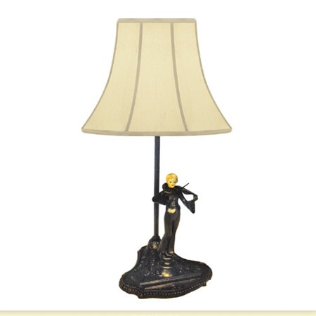JB Hirsch Home Decor Violin Player Francaise Victoria Accent 16 Table Lamp