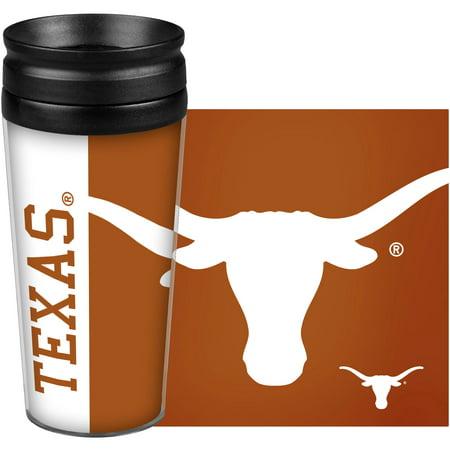 Texas Longhorns 14oz. Hype Full Wrap Tumbler Texas Longhorns Kitchen