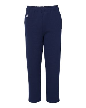 Russell Athletic Dri Power® Youth Open Bottom Sweatpants XL Navy