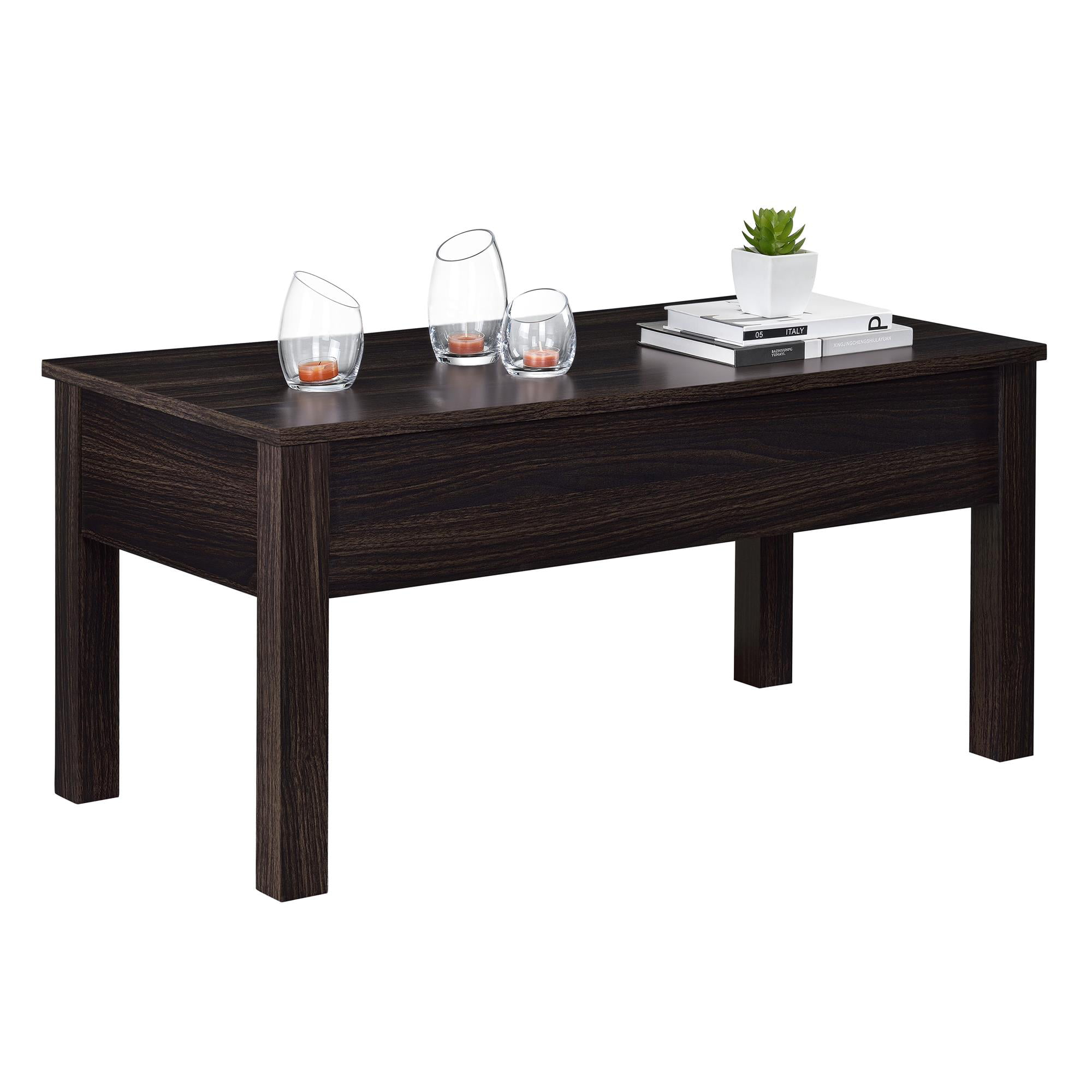 Mainstays Lift Top Coffee Table Multiple Colors Walmartcom