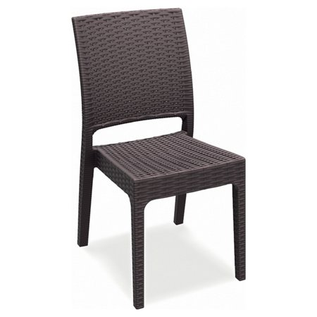 Compamia Orlando Resin Wicker Rectangle Patio Dining Set ()