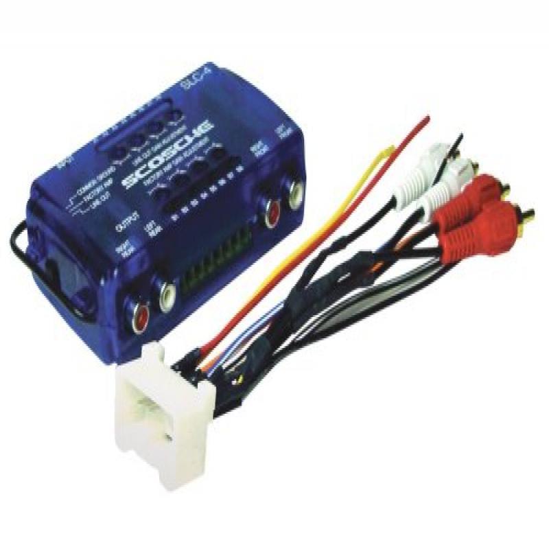 scosche radio wiring harness for 2000 up toyota amplifier interface walmart