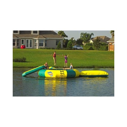 Kidwise Sports Tramp H20- 204'' Water Trampoline