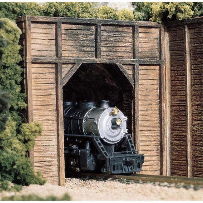 Woodland Scenics WS 1154 N Tunnel Portal Timber-2 Single