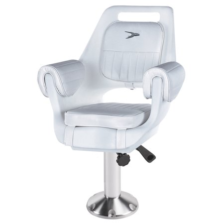 Wise 8WD007-8-710 Deluxe Pilot Chair and Pedestal Combo ()