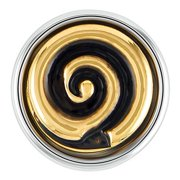 Ginger Snaps Petite Gold Swirl Snap GP05-04