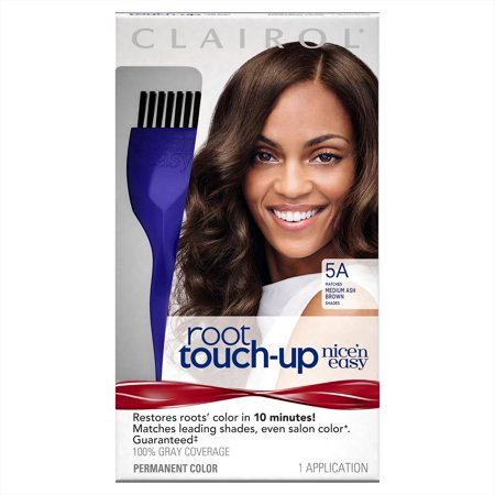 Clairol Nicen Easy Root Touch Up 5a Medium Ash Brown Permanent