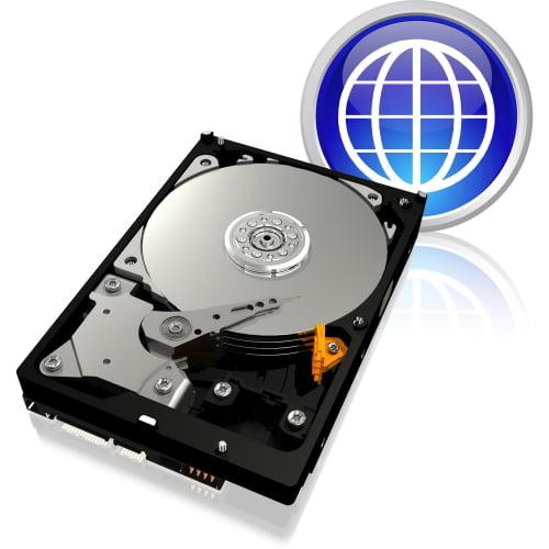 """WD WD3200AAJB WD Blue WD3200AAJB 320 GB 3.5"""" Internal Hard Drive - IDE - 7200 - 8 MB Buffer - Bulk"""