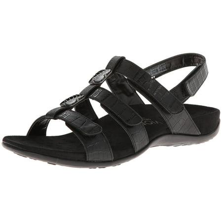 b1dc0a1b335f Vionic - Vionic Womens Rest Amber Strappy Open Toe Sandal Shoes -  Walmart.com