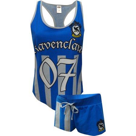 Harry Potter Ravenclaw Quidditch Seeker Uniform Shortie PJ Set - Ravenclaw Quidditch Robes