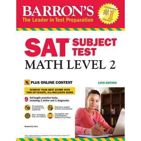 Barron's SAT Subject Test: Math Level 2 with Online (Sat 2 Math Level 2 Practice Test)