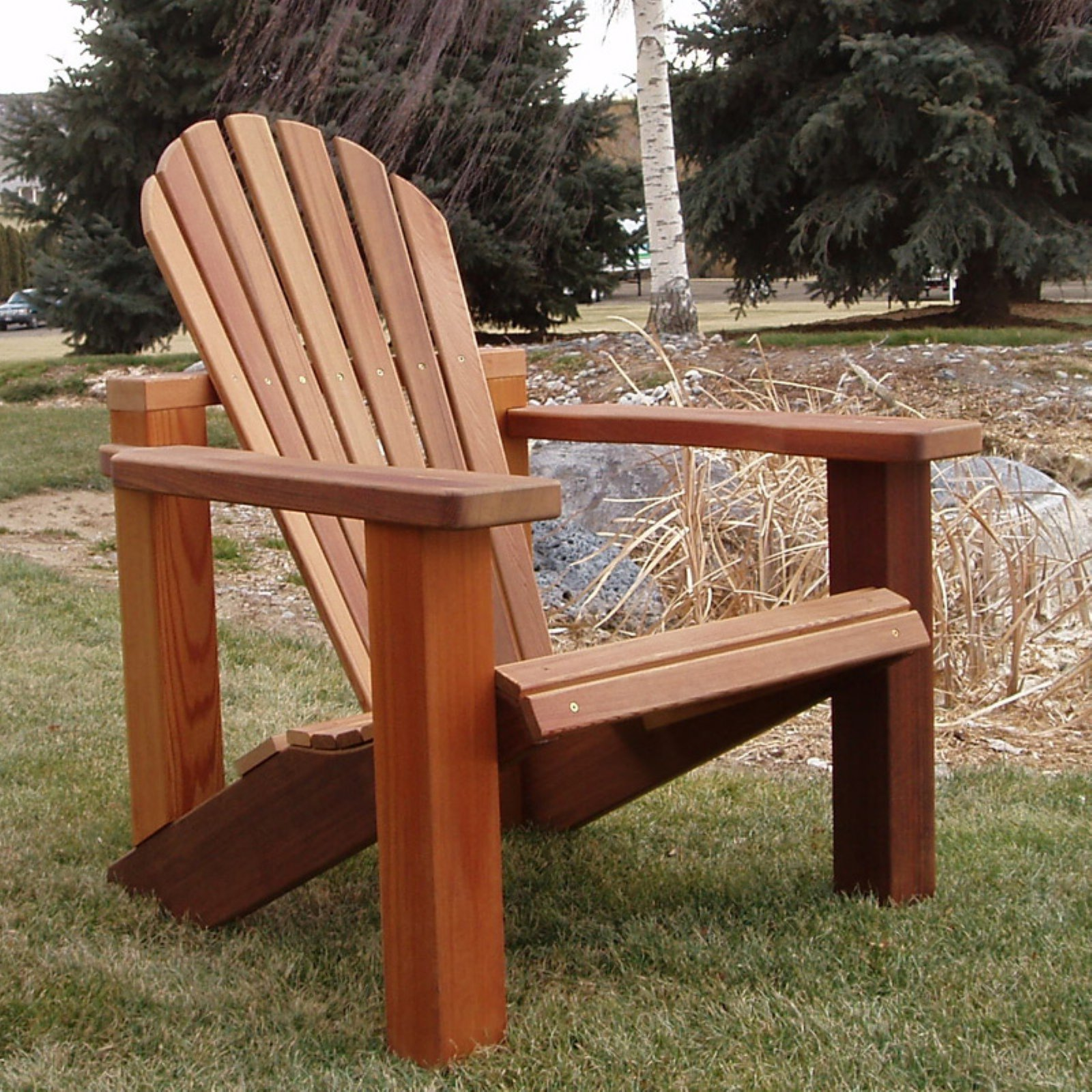 Wood Country Adirondack Chair