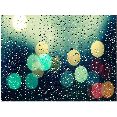 "Trademark Fine Art ""Rainy City"" Canvas Art by Beata Czyzowska"