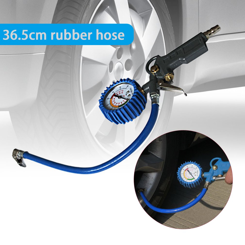 Multi-functional Air Tire Pressure Gauge Vehicle Tester Tyre Inflation Gun