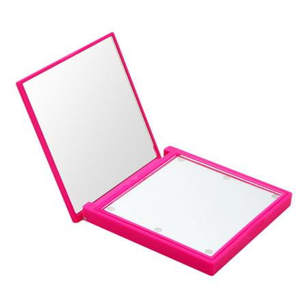 Flo LED Lights Compact Mirror Fuschia (Soft -