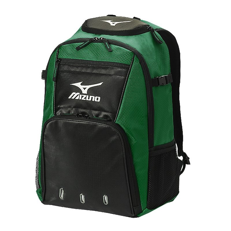 Mizuno Organizer G4 Backpack - Forest/Black