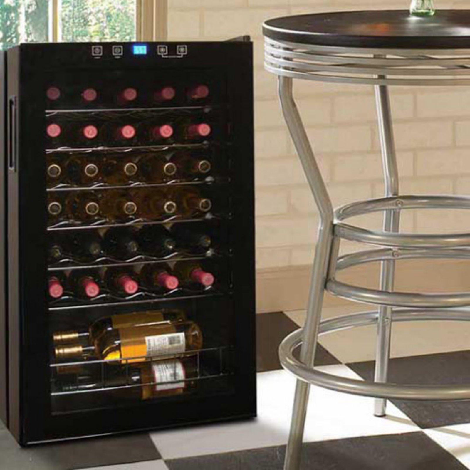 Vinotemp 34-Bottle Touchscreen Wine Cooler