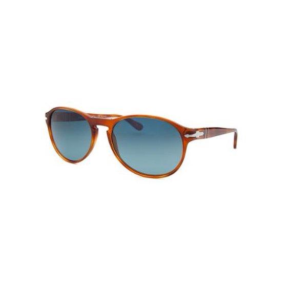 74c123d4659a Persol - Oval Sunglasses PO2931S 96/S3 Size: 55mm Terra Di Siena Polarized  - Walmart.com