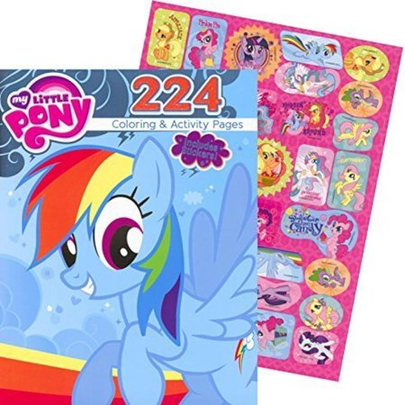 My Little Pony Giant Coloring and Activity Book with Stickers (224 Pages) ()