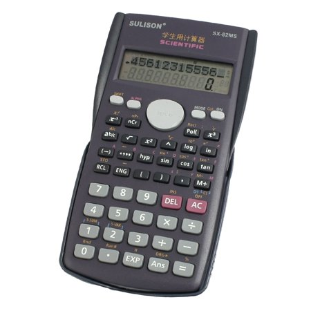 Battery Powere Dark Blue Purple Plastic Keypad Pocket Electronic Calculator