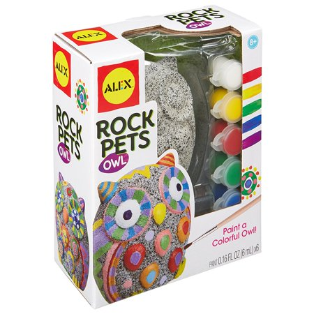 Craft Rock Pets Owl Craft, Create a pet that rocks By ALEX Toys Ship from US