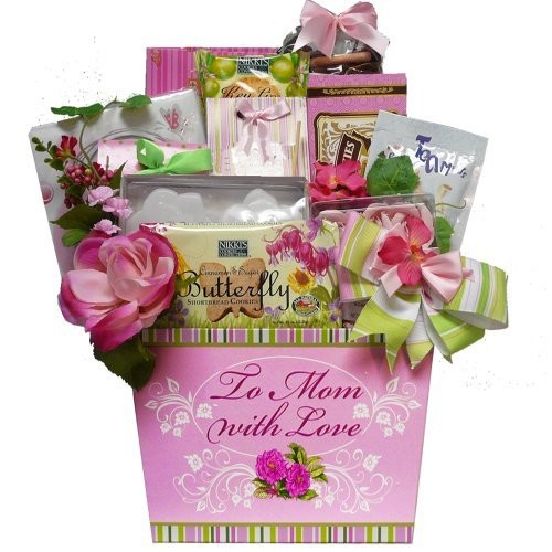 Art of Appreciation Gift Baskets To Mom With Love Tea and Cookie Gift Basket []
