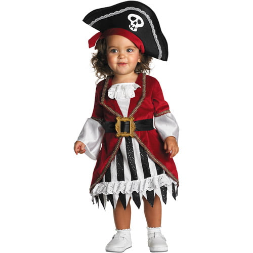 Pirate Princess Infant Halloween Costume by Disguise