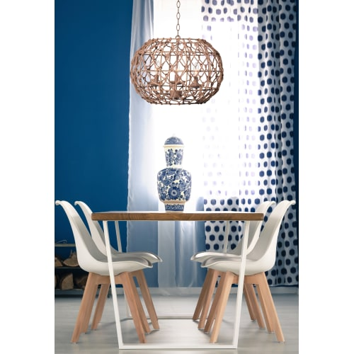 Kenroy Home Torus Tan 3 Light Pendant
