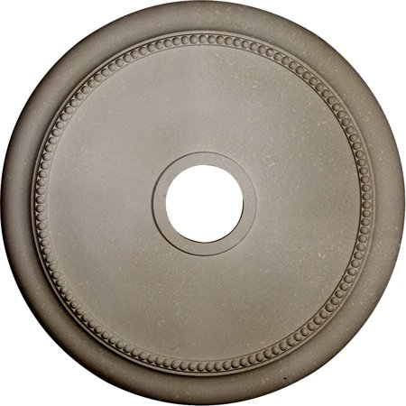 24 1 8 OD x 4 3 8 ID x 2 1 4 P Crendon Ceiling Medallion Fits Canopie