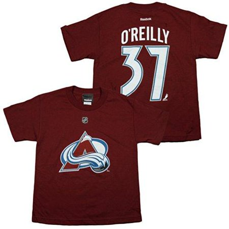 Reebok NHL Youth Boys Colorado Avalanche Ryan O'Reilly #37 Player Tee Shirt