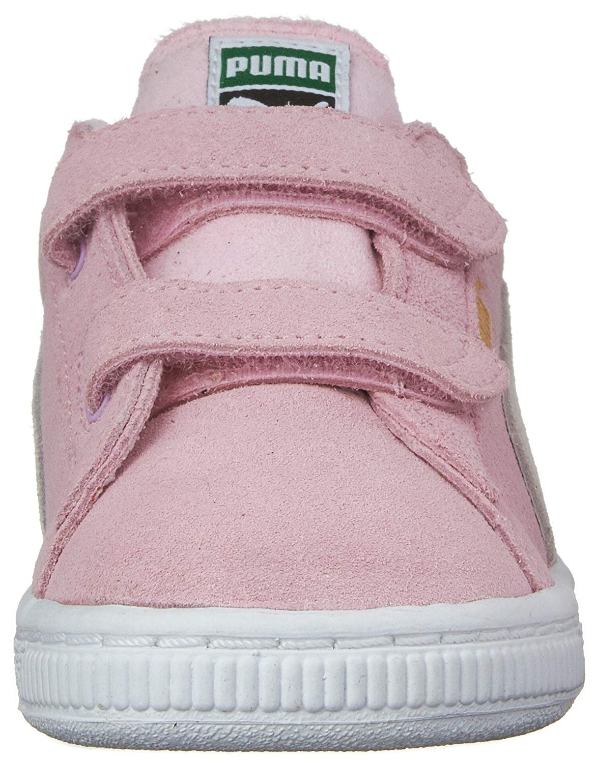 20a3bc18b3d Kids Puma Girls Suede 2 Straps PS Suede Low Top