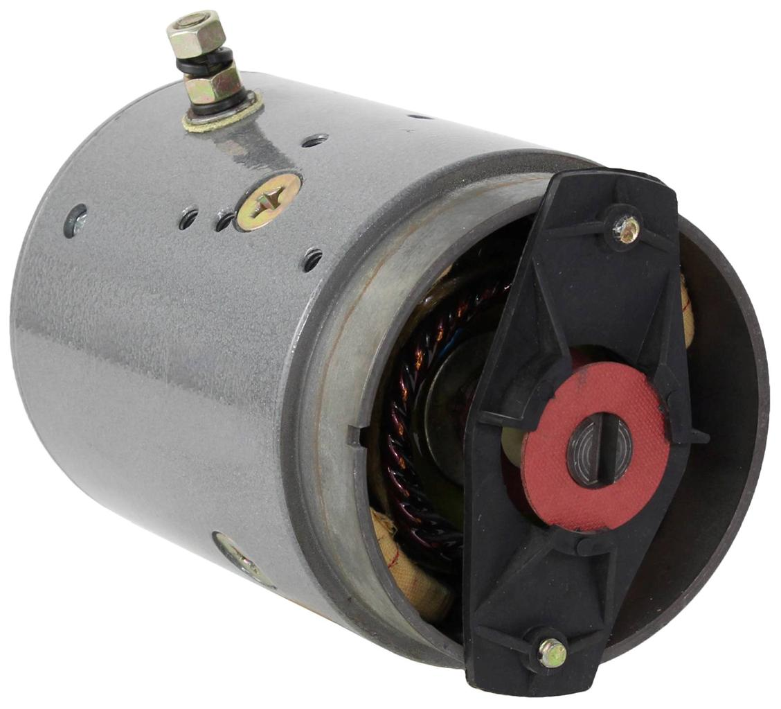 NEW BOSS SNOW PLOW SKIDMORE EQUIPMENT JS BARNES PUMP MOTOR MDY-6125S