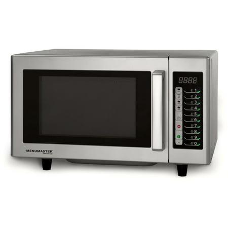 Menumaster Commercial Mms10ts Low Volume 1000 Watt Microwave Oven