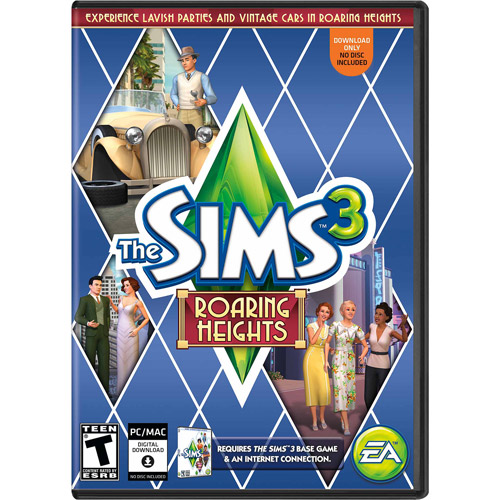 The Sims 3 Roaring Heights Expansion Pack (PC/Mac) (Digital Code)