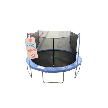 Trampoline Enclosure Safety Net (14 ft. Using 4 Poles or 2 Arches)