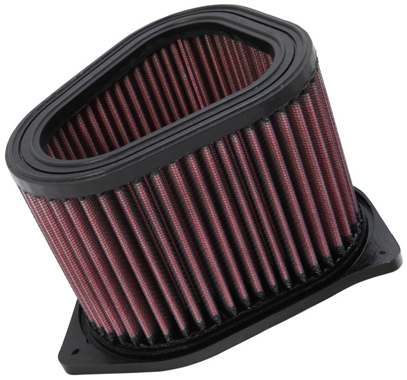 K & N Filters- Powersport SU-1598 Air Filter FilterCharger (R) Washable; Red; Cotton Gauze; Unique; 4-3/8 Inch Height - image 1 de 1
