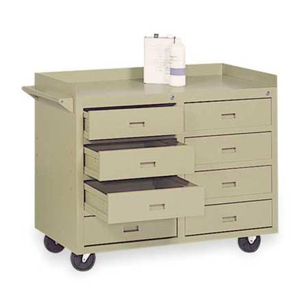 Mobile Service Bench,22 In. L,45 In. W ZORO SELECT 4YW40